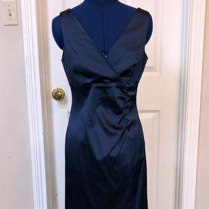 Donna Ricco Womens Navy Sleeveless Dress - 6